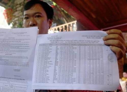 Nhiều thí sinh thi ngoại ngữ tại Huế bị đánh trượt 'oan'?