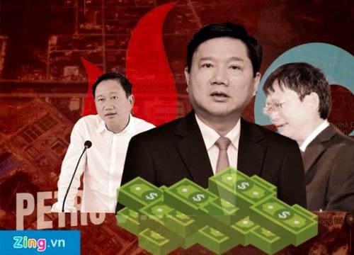 3 vụ án trong ngành dầu khí thời ông Đinh La Thăng làm chủ tịch