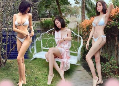"""Elly Trần khoe ảnh bikini, dân tình nhào nháo """"mò cho ra"""" mẹo dưỡng dáng của mẹ bỉm sữa"""