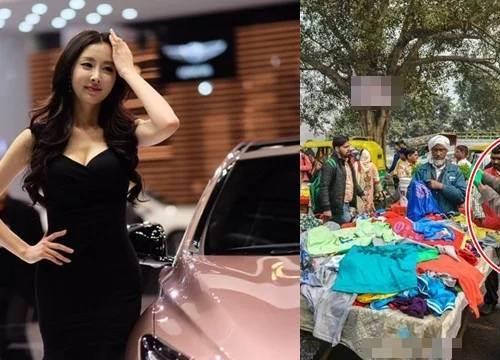 Đang đi sắm Tết thì thấy chồng cũ đứng trước cửa hàng quần áo vỉa hè