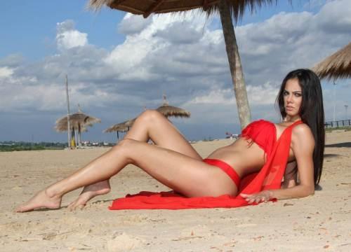 Đôi chân dài miên man của Guadalupe Gonzalez