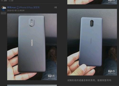 Rò rỉ hình ảnh Nokia 1 chạy Android Go sắp ra mắt