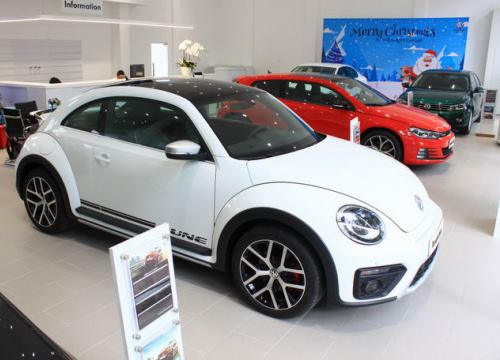 Volkswagen nỗ lực giành thị phần ở Việt Nam