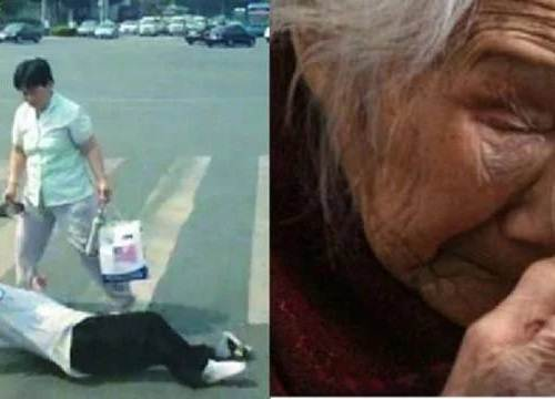 Bà nội đi chợ để lạc cháu gái, con dâu đánh mẹ chồng đến gãy chân