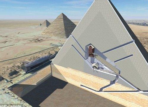 Căn phòng bí mật 4.500 năm ở Đại kim tự tháp Ai Cập chứa gì?