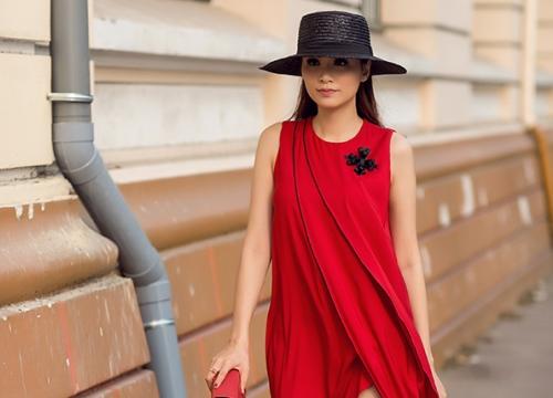 Diễm Hương gợi ý mặc đẹp cùng xu hướng 2018