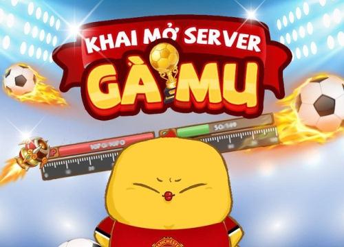 iGà mở server mới Gà MU và WP MU, tặng GiftCode giá trị