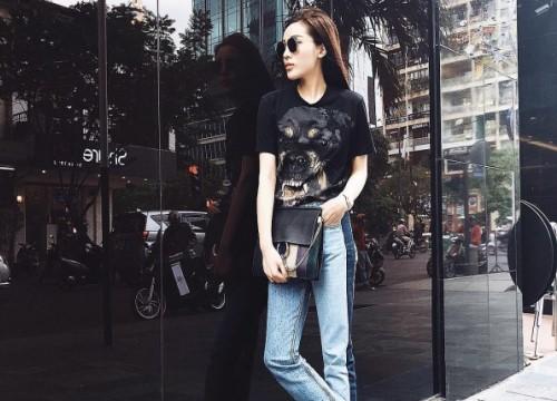 Với thời trang phủ đầy hàng hiệu, Kỳ Duyên, Jolie Nguyễn 'tỏa sáng', dẫn đầu streetstyle trên phố