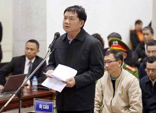 Bị cáo Đinh La Thăng xin được ăn cái Tết cuối cùng với gia đình