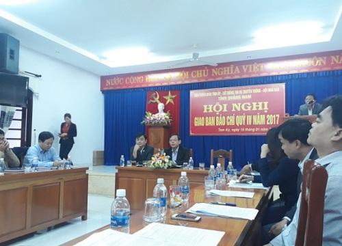 Đề nghị không suy luận nhiều về công tác cán bộ Quảng Nam