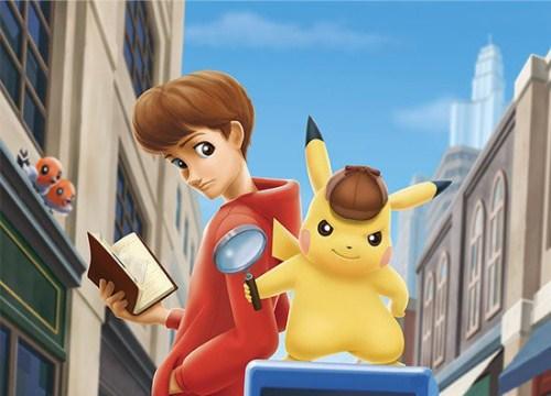 Detective Pikachu - Tựa game Pokemon Thám Tử đầu tiên được công bố