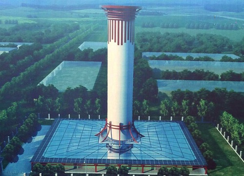 Trung Quốc xây tháp lọc không khí ô nhiễm lớn nhất thế giới