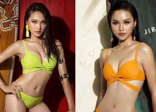 Vẻ nóng bỏng của 2 người đẹp muốn kế vị Tân Hoa hậu H'Hen Niê