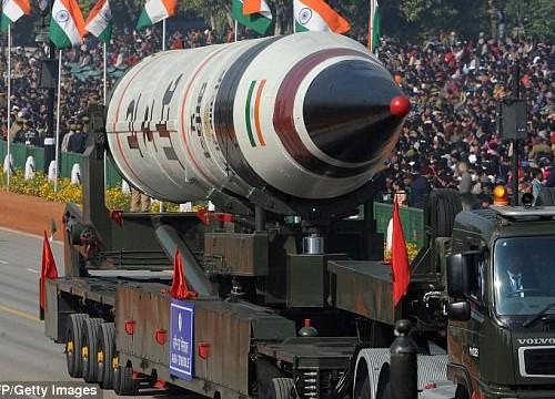 Ấn Độ thử thành công tên lửa đạn đạo liên lục địa tầm xa 5.000km