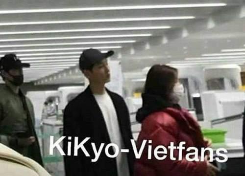 Chán sang Nhật, Song Joong Ki và Song Hye Kyo lại bí mật cùng nhau đến Paris