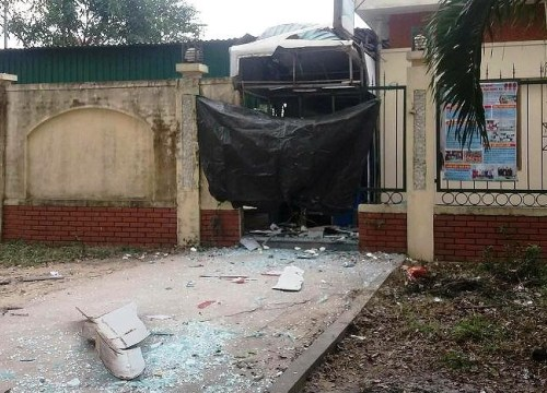 Vụ nổ cây ATM kinh hoàng trong đêm ở Nghệ An: 2 nghi phạm bị bắt