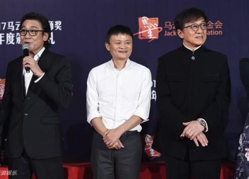 Thành Long, Lý Liên Kiệt tránh nhau tại sự kiện của Jack Ma