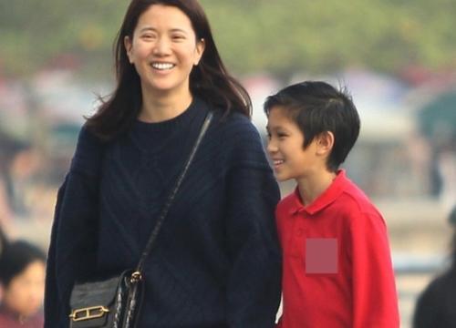 Con trai Trương Trí Lâm 11 tuổi cao, gầy mảnh khảnh