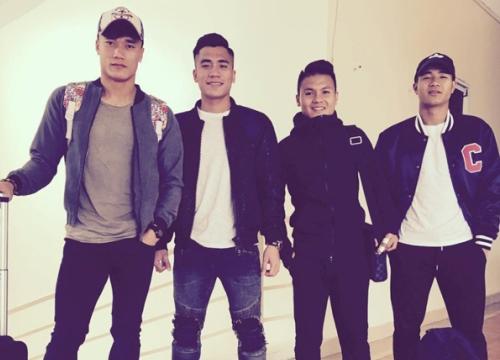 Phong cách chuẩn 'soái ca' của cầu thủ U23 Việt Nam