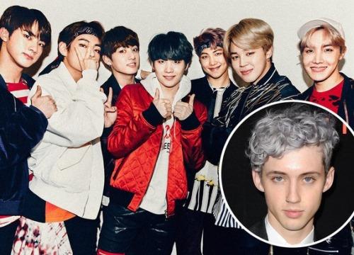 Troye Sivan khen BTS nức nở, mong có cơ hội được hợp tác