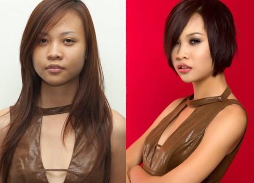 """Nhan sắc của Đàm Thu Trang - bạn gái Cường Đô La thuở đi thi """"Next Top Model"""""""