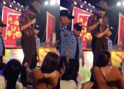 Sau Dương Triệu Vũ, đến lượt Trường Giang bị fan nữ sờ soạng, kéo quần trên sân khấu