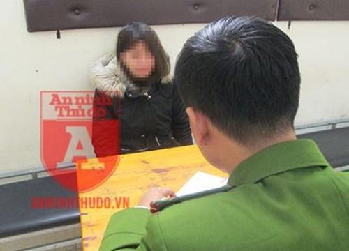 """Hà Nội: Định """"đánh quả"""" gần 20 triệu đồng ăn tết, nữ học viên y tế sa lưới"""
