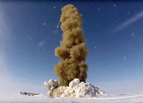 Nga thử nghiệm tên lửa đối phó tấn công hạt nhân