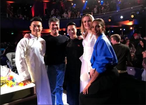 """Quốc Cơ - Quốc Nghiệp đi tiếp vào vòng 2, khiến giám khảo """"Britain's Got Talent"""" bất ngờ về tài năng Việt"""