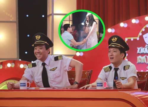 Đến lượt Trường Giang phải chứng kiến thí sinh mượn sân khấu 'Thách thức danh hài' để cầu hôn bạn gái