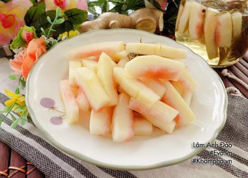 [Chế biến] - Tận dụng cùi dưa hấu sau Tết ngâm chua ngọt vừa rẻ vừa ngon