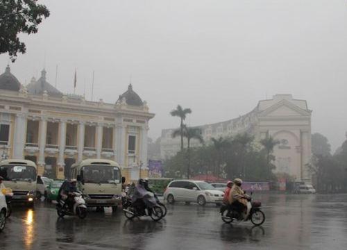 Dự báo thời tiết hôm nay (22/2): Nhiệt độ thấp nhất tại Hà Nội có thể xuống 13 độ C