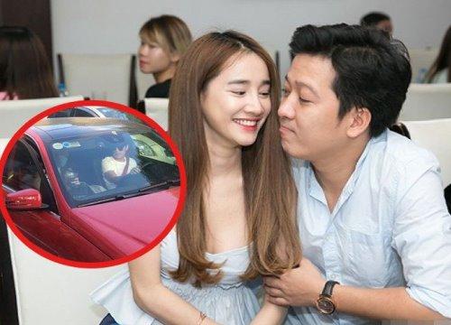 Nhã Phương không dám xuất hiện công khai, 'ngụy trang' kín mít khi đi xem phim cùng Trường Giang