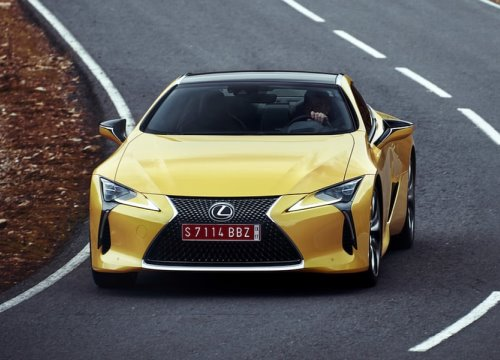 Cạnh tranh với Mercedes-AMG S63 coupé: Lexus sẽ sản xuất LC F-Sport?