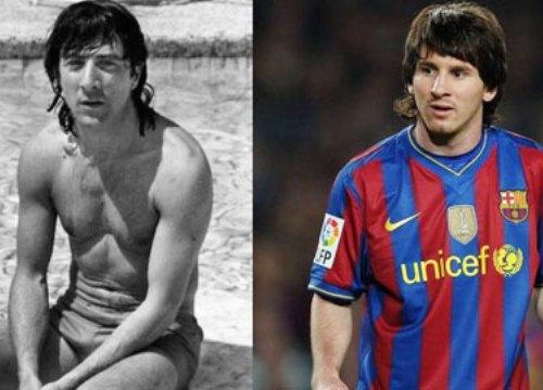 Hậu trường sân cỏ 25/2: Messi bị phát hiện giống hệt... tài tử điện ảnh