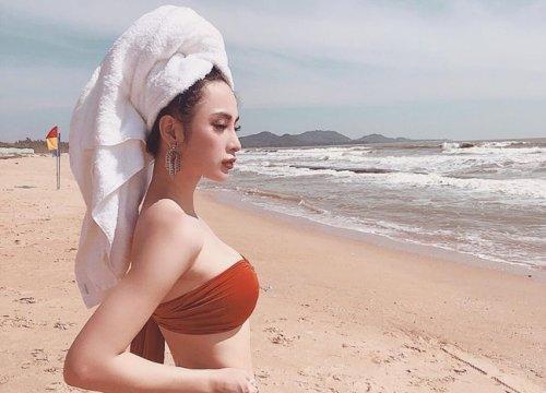 """Nhan sắc 10 phân vẹn 10 của 4 """"Nữ hoàng bikini"""" showbiz Việt"""