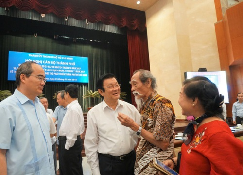 TPHCM: Then chốt của đột phá kinh tế là sử dụng cán bộ