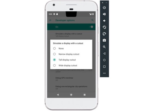 """Android P ra mắt: Hỗ trợ tùy biến giao diện tai thỏ cho các smartphone """"nhái"""" iPhone X"""