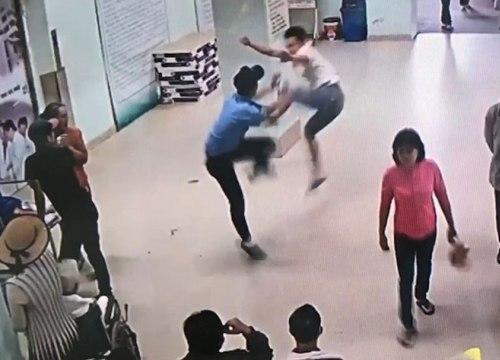 Bảo vệ Bệnh viện K đánh người nhà bệnh nhân rạn xương sườn