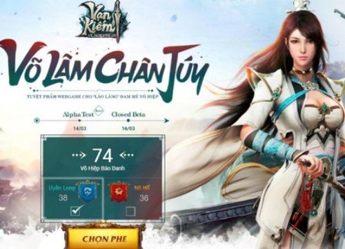 Vạn Kiếm - Game online mới của 360Game chính thức cập bến Việt Nam ngày 14/03