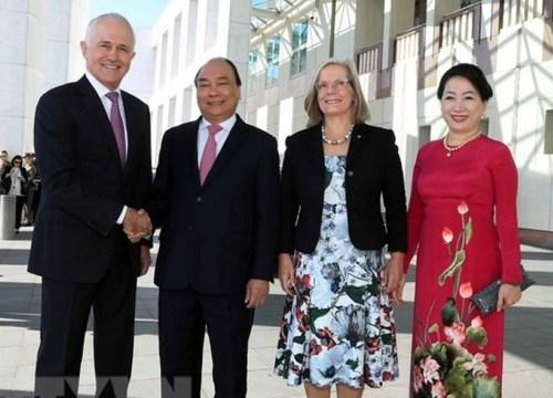 Australia đón Thủ tướng Nguyễn Xuân Phúc với 19 loạt đại bác theo nghi thức đặc biệt