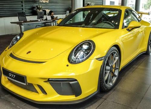 """Đại gia Việt Nam """"rước"""" siêu xe Porsche 911 GT3 2018 giá 11,06 tỷ đồng"""