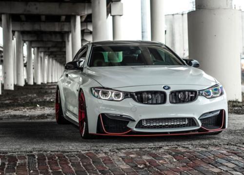 BMW M4 Coupe lên đời bộ mâm hàng hiệu ADV.1 giá hơn 2000USD