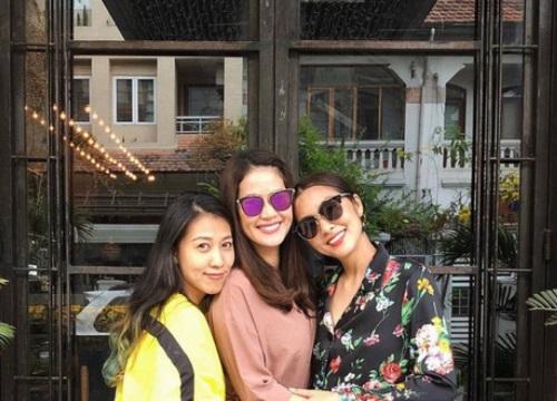 Fan phấn khích khi hội bạn thân Tăng Thanh Hà tái hợp