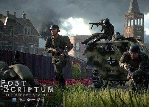 Xuất hiện game bắn súng đề tài thế chiến 2 đẹp ngất ngây: Post Scriptum