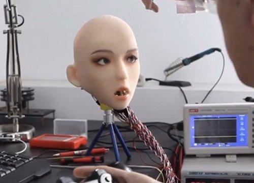 TQ sắp ra mắt robot tình dục cử động giống hệt người thật
