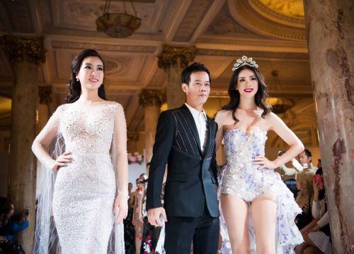 Đỗ Mỹ Linh, Hoa hậu Hoàn vũ 2007 'đọ sắc' khi cùng làm vedette trong show Hoàng Hải tại Cannes