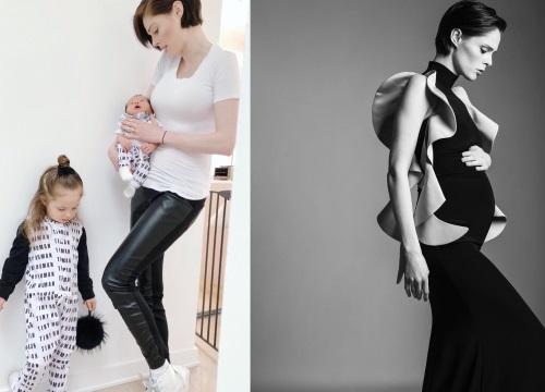 Siêu mẫu hàng đầu thế giới Coco Rocha vẫn cực trẻ trung và sành điệu khi đã là bà mẹ 2 con