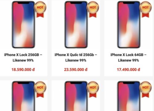 iPhone X hàng cũ, giá thấp, đổ về Việt Nam - Thế giới số