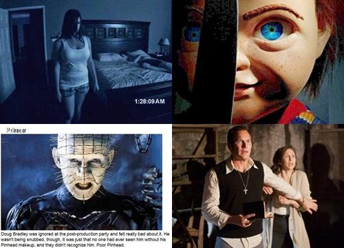 Bảng xếp hạng 10 thương hiệu phim kinh dị hay nhất mọi thời đại